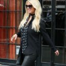 Jessica Simpson spotted outside The Bowery Hotel in New York City, New York on September 10, 2015