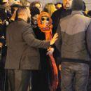 Nicki Minaj Meeting Fans In Manchester
