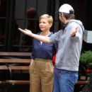 Michelle Williams at the 'After The Wedding' set in Manhattan - 454 x 345