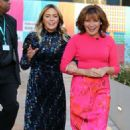 Patsy Kensit and Lorraine Kelly at ITV Studios in London - 454 x 723