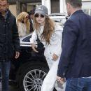 Gigi Hadid – Arriving at her hotel in Paris