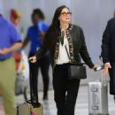 Demi Moore – Arrives at JFK airport in New York - 454 x 611