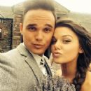Faye Brookes and Gareth Gates