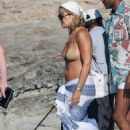 Rita Ora – In a bikini on vacation in Ibiza