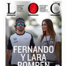 Fernando Alonso and Lara Álvarez
