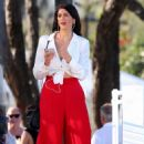 Stephanie Rice in Red Pants out in Gold Coast - 454 x 720