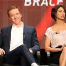 Damian Lewis and Morena Baccarin