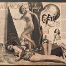 Pat Kirkwood, Margaret Chapman, Dorothy Lamour, Janet Blair - Cinemonde Magazine Pictorial [France] (4 June 1946) - 454 x 340