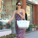 Emmy Rossum is seen on a jaunt in Beverly Hills on July 30, 2015