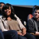 """Amber Riley Faints from Flashes at """"Glee"""" Screeing"""