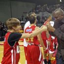 Justin Bieber attended The 2011 NBA All Star Celebrity Game that was held in Los Angeles (February 18)