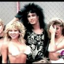 Nikki Sixx with girls, girls, girls