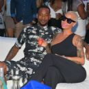 Amber Rose and Terrence Ross - 454 x 508