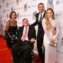 Jennifer Lopez and Alex Rodríguez : 33th Annual Great Sports Legends Dinner - 454 x 568