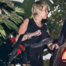 Miley Cyrus – Seen as she leaves a photoshoot in Beverly Hills