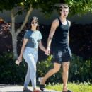 Camila Cabello and Shawn Mendes – Out for a walk in Coral Gables - 454 x 303