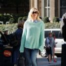 Fearne Cotton At Bbc Radio 1 In London