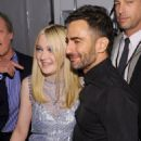 Dakota Fanning attended the Marc Jacobs 2012 Fall Fashion Show, February 13, in New York City