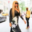 Wendy Williams – Arriving at Late Night with Seth Meyers in NYC