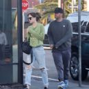 Dakota Johnson and Chris Martin – Heads for dinner in Santa Monica