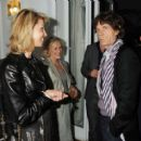Mick Jagger and L'Wren Scott attend Finch's Quarterly Cannes Dinner 2010 at the Hotel du Cap as part of the 63rd Cannes Film Festival on May 17, 2010 in Antibes, France - 454 x 412