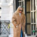 Chloe Sevigny in Long Coat – Out in New York City - 454 x 712