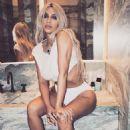 Kim Kardashian – Violet Grey Photoshoot 2017 - 454 x 567