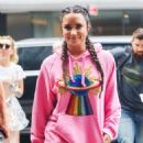 Demi Lovato – Arriving back at her hotel in New York