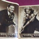 Errol Flynn, Ellen Drew - Screen Stories Magazine Pictorial [United States] (July 1939)