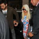 Christina Aguilera: out and about in New York City
