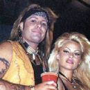 Vince Neil with Pamela Anderson