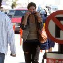 Gina Carano-May 13, 2013-Gina Carano Leaves LA