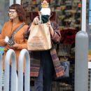 Vanessa Hudgens Leaving Walgreens In La