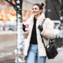Victoria Justice – Out and About During New York Fashion Week, February 2017 - 454 x 317