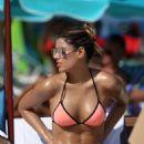 Ariadna Gutierrez in Bikini at a beach in Miami - 454 x 634