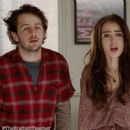 Lily Collins and Michael Angarano