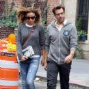 Olivia Wilde and Jason Sudeikis Stroll Around Together