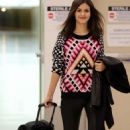 Victoria Justice spotted at LAX International airport in Los Angeles, CA January 10,2015
