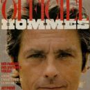 Alain Delon - L'Officiel Hommes Magazine Cover [France] (February 1984)