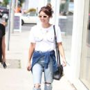 Emma Roberts – Shopping at Rebecca Minkoff in LA