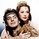 Victor Mature and Hedy Lamarr