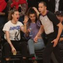 Behati Prinsloo and Whitney Hartley Wagner – Los Angeles Lakers and the Denver Nuggets Game in LA