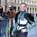 Chloe Moretz – Arrives at Louis Vuitton SS 20020 Paris Fashion Show