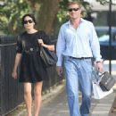 Andrea Corr and Brett Desmond, West London, 5 Sept. 2013 - 454 x 522