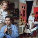 Tobey Maguire, Carolyn Murphy - Elle Magazine Pictorial [United States] (April 2013)