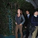 Cindy Crawford leaving Mr Chow restaurant in LA - 26 January 2011