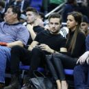 LIAM PAYNE & SOPHIA SMITH AT NBA GAME (January 16)