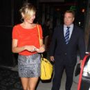 Cameron Diaz at Mercato di Vetro Restaurant (August 8)