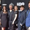 Jon Bon Jovi and family attend the 33rd Annual Rock & Roll Hall of Fame Induction Ceremony at Public Auditorium on April 14, 2018 in Cleveland, Ohio - 454 x 297