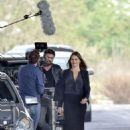 Sofia Vergara – Filming 'Bent' in Rome